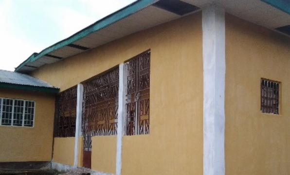 New isolation ward